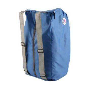 Foldable Lightweight Waterproof Travel cum School / College Bag Blue