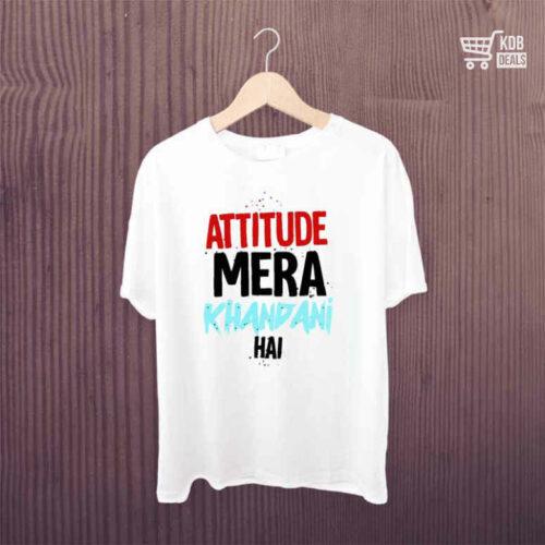 KDB T shirt Attitune Mera Khandani Hai 1.jpg