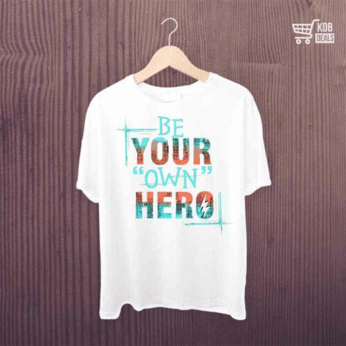 KDB T shirt Be Your Own Hero 1.jpg