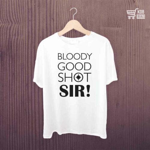 KDB T shirt Bloody Good Shot 1.jpg