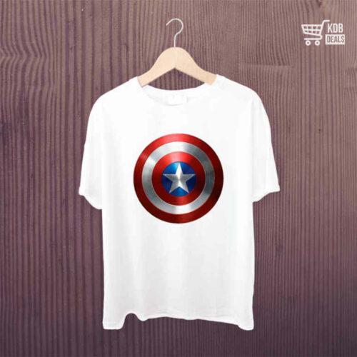 KDB T shirt Captain America Shield 1.jpg