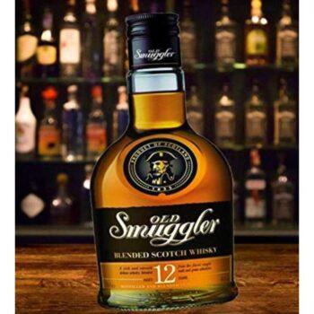 Old Smuggler Cushion Whisky Bottle Shaped Cushion