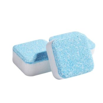 Laundry Effervescent Tablets Washing Machine Effervescent Tablets Cleaner Laundry Deep Cleaning Remove Odor Decontamination Tablets