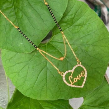 Diva Chic Gold Plated Love Mangalsutras for Women