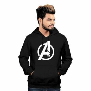 Fancy Glamorous Avengers Men Sweatshirts Black