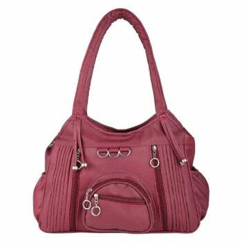 Fashion Women's Stylish Handbag Maroon