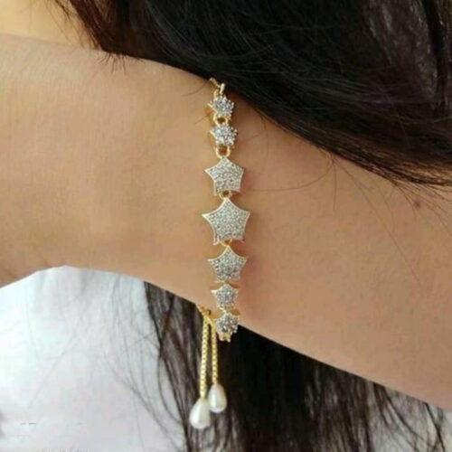 Feminine Beautiful Bracelet Bangle Jewellery for Girls and Women 1