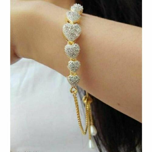 Feminine Beautiful Bracelet Bangle Jewellery for Girls and Women