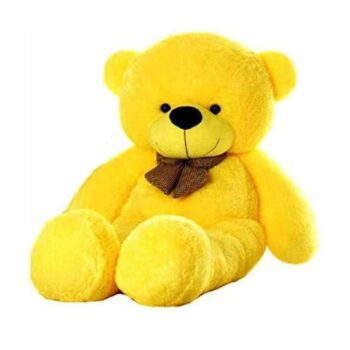 Huggable Soft Teddy Bear with Neck Bow 3.5 Feet for Someone Special