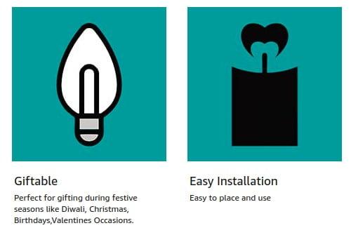 LED Kalash String Light Warm White LED Lights, Diwali Electric - Home Decoration Diwali Decor Mandir/Temple Decoration