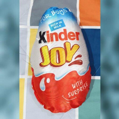 Kinder Joy Pillow with Original Fiber Filling, Kinder Joy Cushion Best for Kids (Pack of 2)