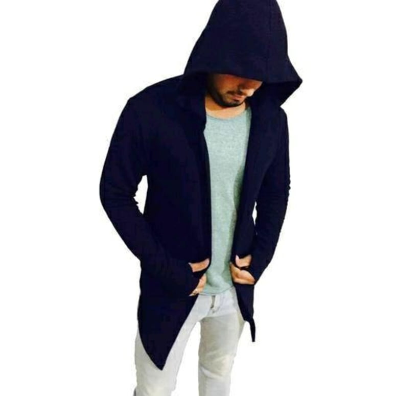 Men Pure Cotton Awesome Hooded T shirt 2