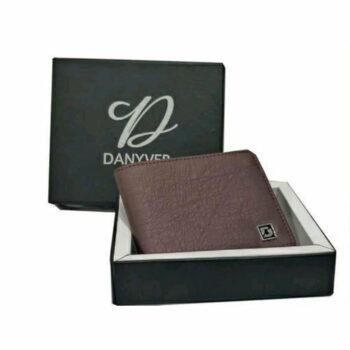 Men's Leather Texture Wallet (Brown)