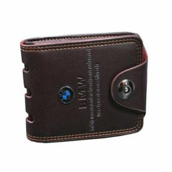 Men's Brown Passport BMW Wallet