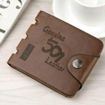 Men's Trendy Pu Leather Wallet