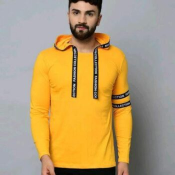 New Classic Men Tshirts Yellow