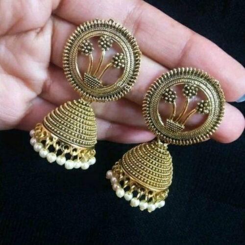 New Oxidized Women's Earrings
