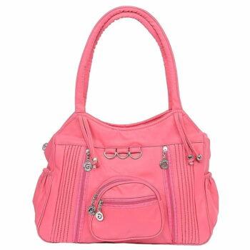 PU Women's Handbag Pink