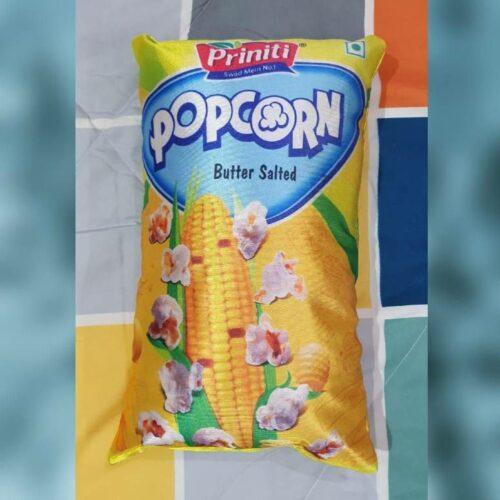 Popcorn Pillow with Original Fiber Filling, Popcorn Cushion Best for Kids (Pack of 2)