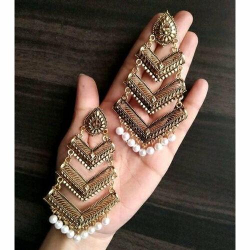 Trendy Women's Drop Earrings