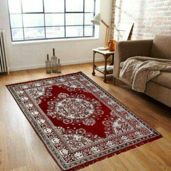 Velvet Feel Elite Large Size Soft Chennile Carpet (5x7 Feet)