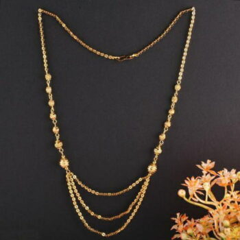 Women's Pride Daily wear Alloy Gold Plated Mangalsutras (18 Inch Length)