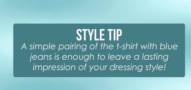 style tip tshirts