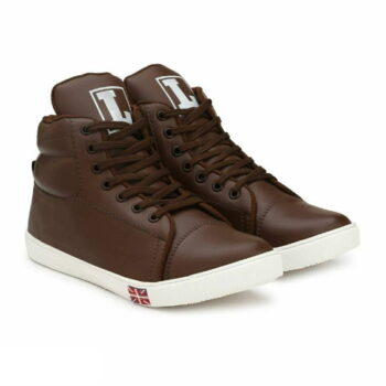 Brown Synthetic Sneakers Casual Shoes for Men's