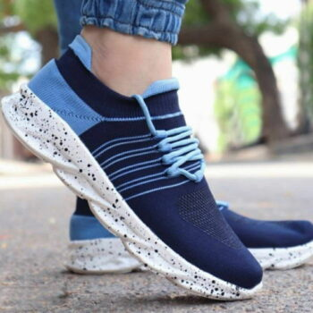 Exclusive Blue Sports Sneakers For Men