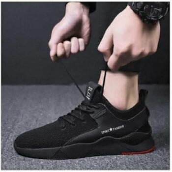 Men Sports Shoes (Black)