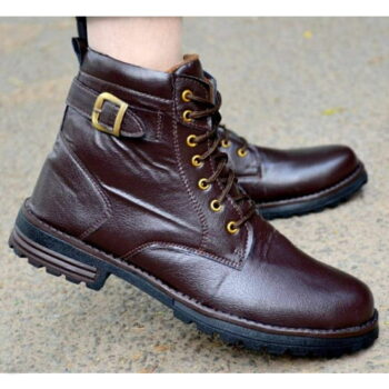 Men's High Fashion Brown Casual Outdoor Hiking Boots