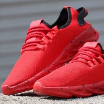 Red Mesh Sports Shoes & Running Shoes for Boys & Men
