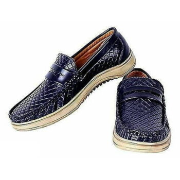 StyleRoad Blue Casual Loafers For Men
