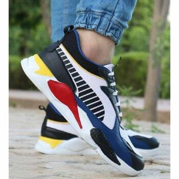 StyleRoad Elegant Blue Trendy Breathable Sports Sneakers For Men