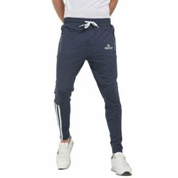 Stylish Men's Cotton Slim Fit Track Pant (Grey)