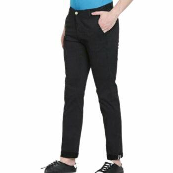 Trendy Stylish Cotton Men's Trouser (Black)
