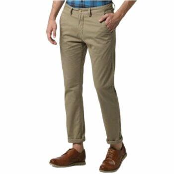 Trendy Stylish Cotton Men's Trouser (Camel)