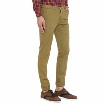 Trendy Stylish Cotton Men's Trouser (Mustard)