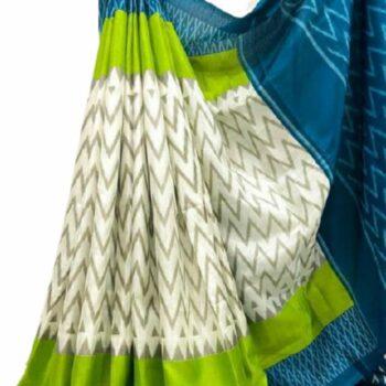 Jivika Khadi Silk Saree With Blouse Piece