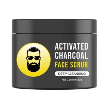 Men's Exclusive - L'Glam Activated Charcoal Face Scrub
