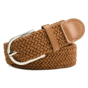 Tan Leather Casual Belt For Men