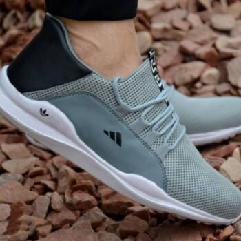 Ultra Lite Grey Mesh Casual Sports Shoes