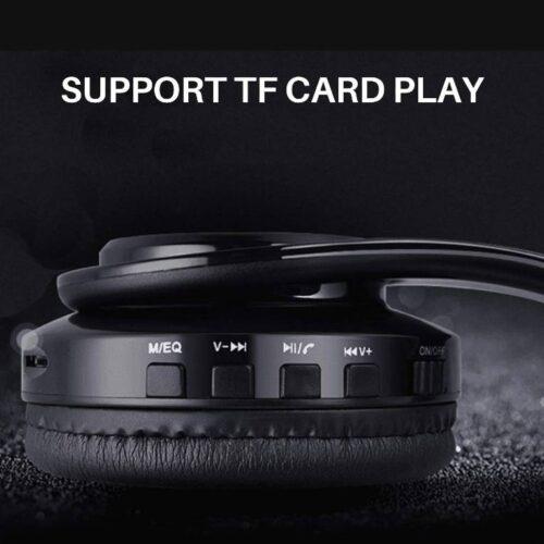Fire Boltt Blast 1000 Hi Fi Stereo Over Ear Wireless Bluetooth Headphones with Foldable Earmuffs On Ear with 20 Hours Playtime Built in Mic Deep Bass Soft Ear Cushions Blue 8