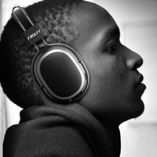 Fire Boltt Blast 1100 On Ear Bluetooth Luxury Headphones Crisp Sound Deep Bass with 16H Playtime 4