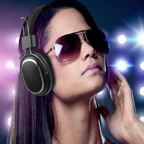 Fire Boltt Blast 1100 On Ear Bluetooth Luxury Headphones Crisp Sound Deep Bass with 16H Playtime 8