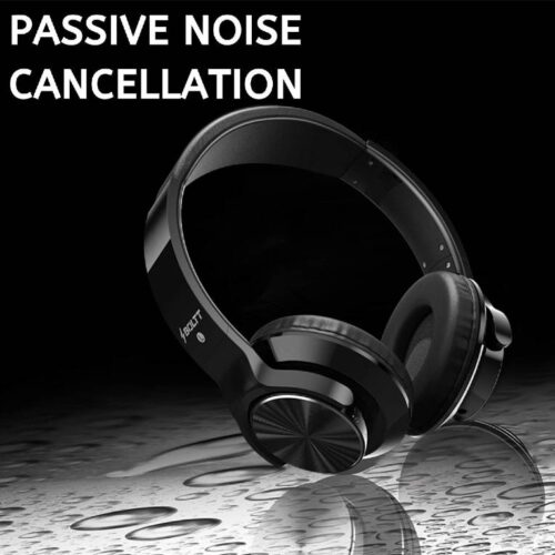 Fire Boltt Blast 1300 On Ear Metal Finish Wireless Bluetooth Over The Ear Headphone 18 Hour Playtime with in Built Mic 40mm Driver with HD Sound Deep Bass Ultra Soft Ear Cushions Black 5