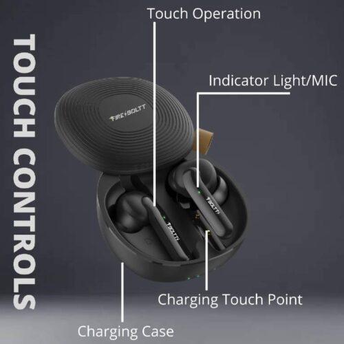Fire Boltt Buds 1100 True Wireless Earbuds BT5 3