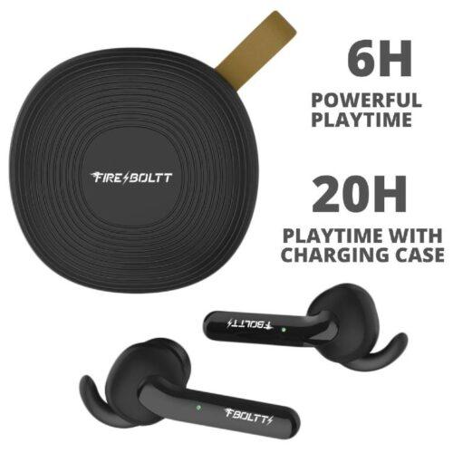 Fire Boltt Buds 1100 True Wireless Earbuds BT5 6
