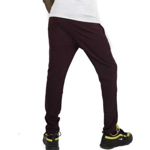 Ishu Men Maroon Casual Wear Track Pants 1