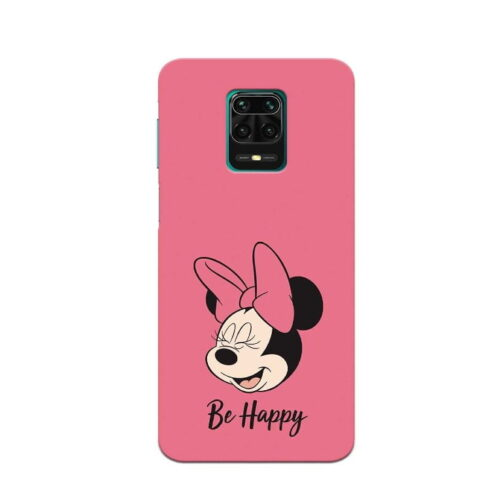 Redmi Note 9 Pro Back Cover Be Always Happy